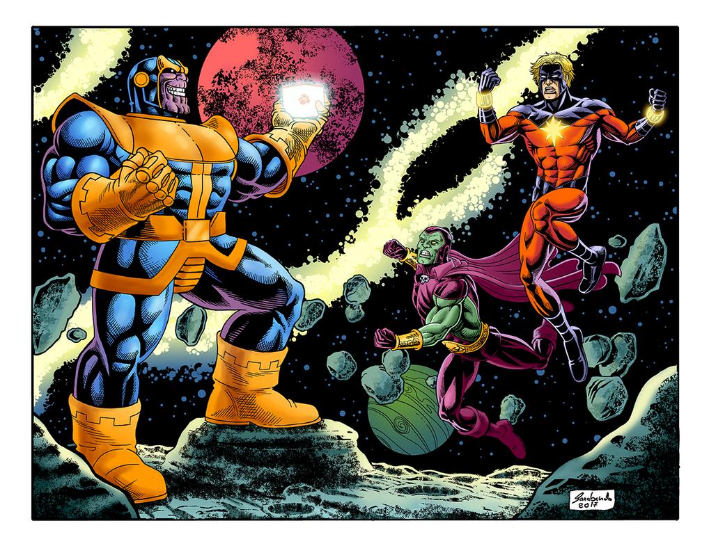 Thanos Cor Net by Guelin