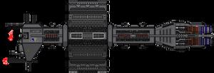 Babylon 5 Omega Class Destroyer Remake