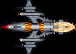 Drazi Sunhawk Class Battlecruiser (Babylon 5)