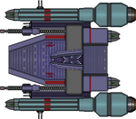 Abbai Lakara Class Cruiser by LunaraUrizen