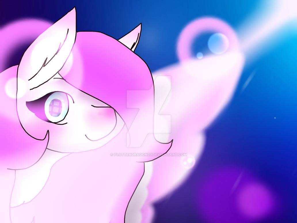 just a pony .w. by FlutterDragon23