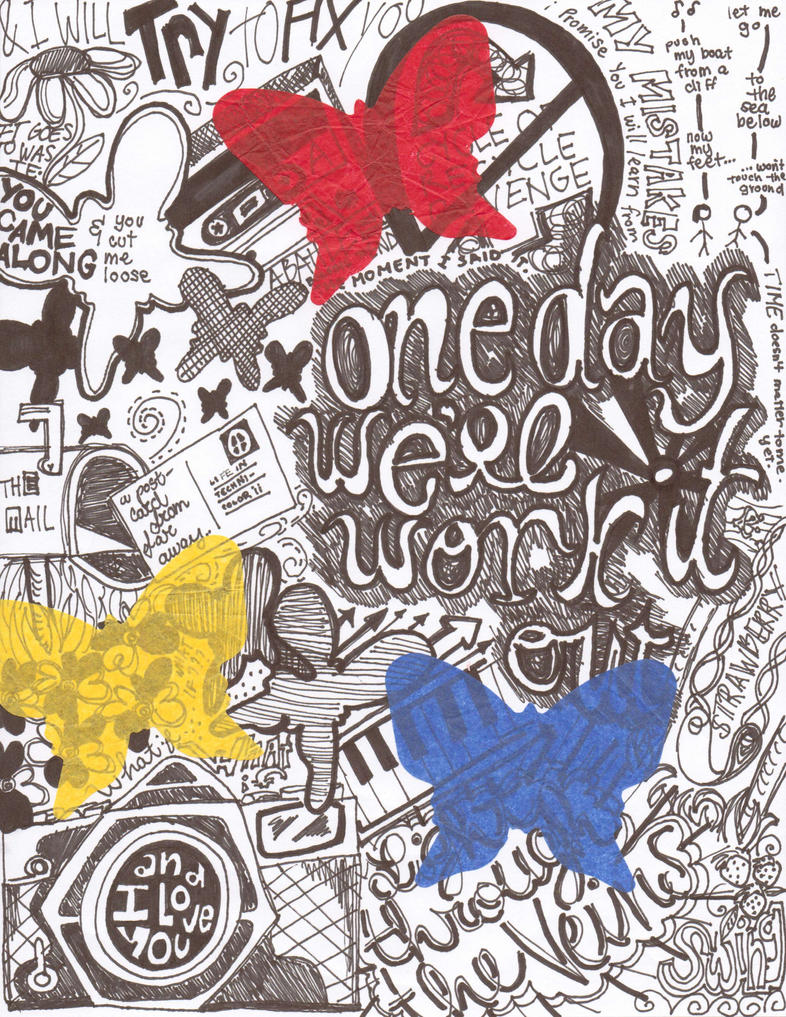 Coldplay Scribble by fuzziee