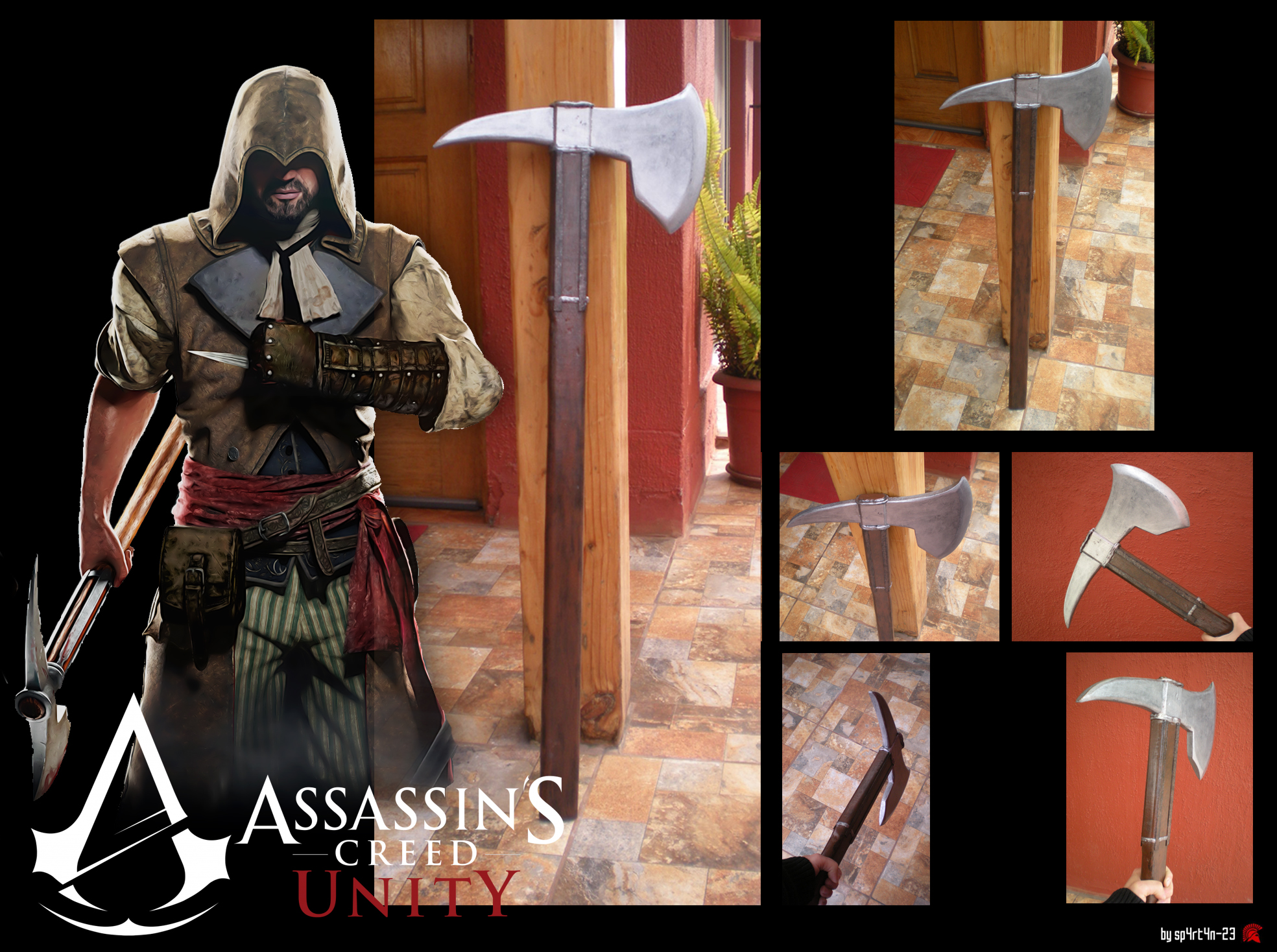 Assassins Creed Unity Axe By Sp4rt4n 23 On Deviantart