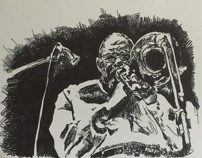 Fred Wesley  by RyanRiffCassidy