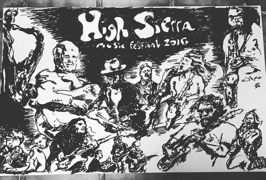 High Sierra Music Festival 2016  by RyanRiffCassidy
