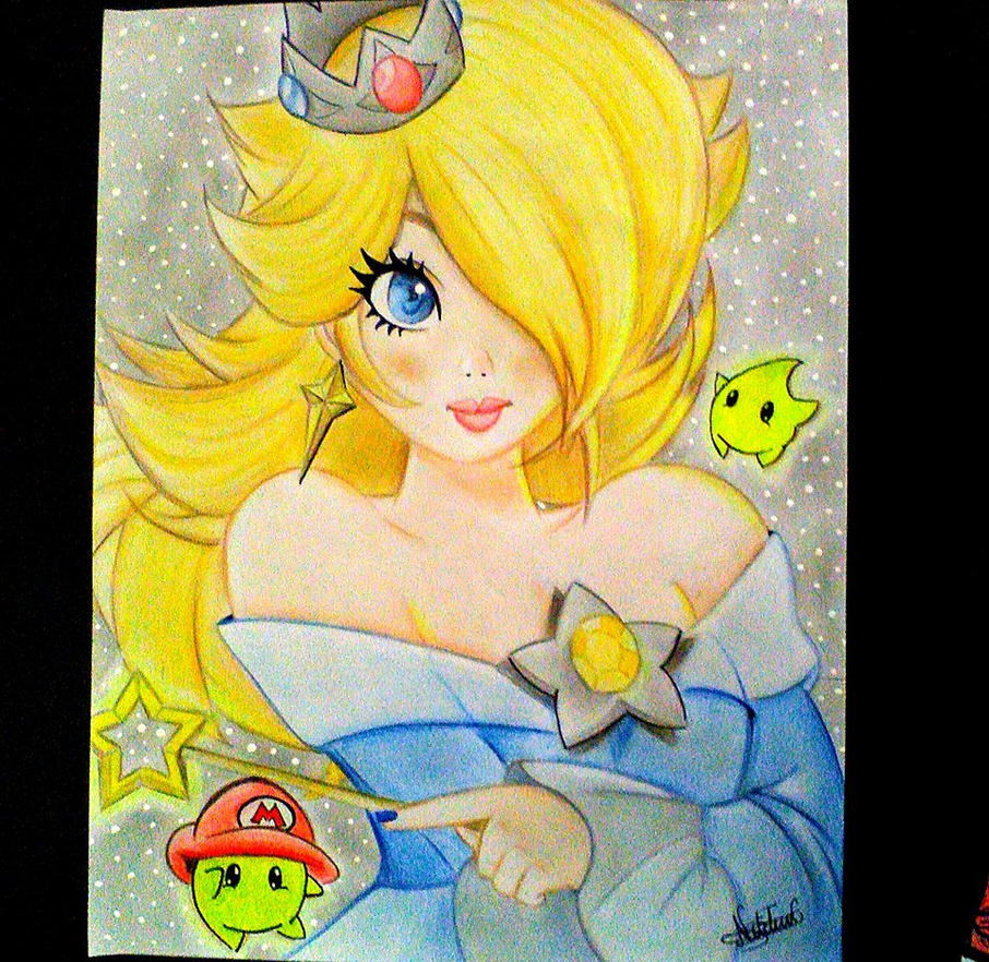 princesa rosalina fan art by setrock12