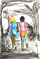 finding terabithia by chopinsdaughter