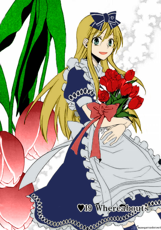 Heart No Kuni No Alice Coloring