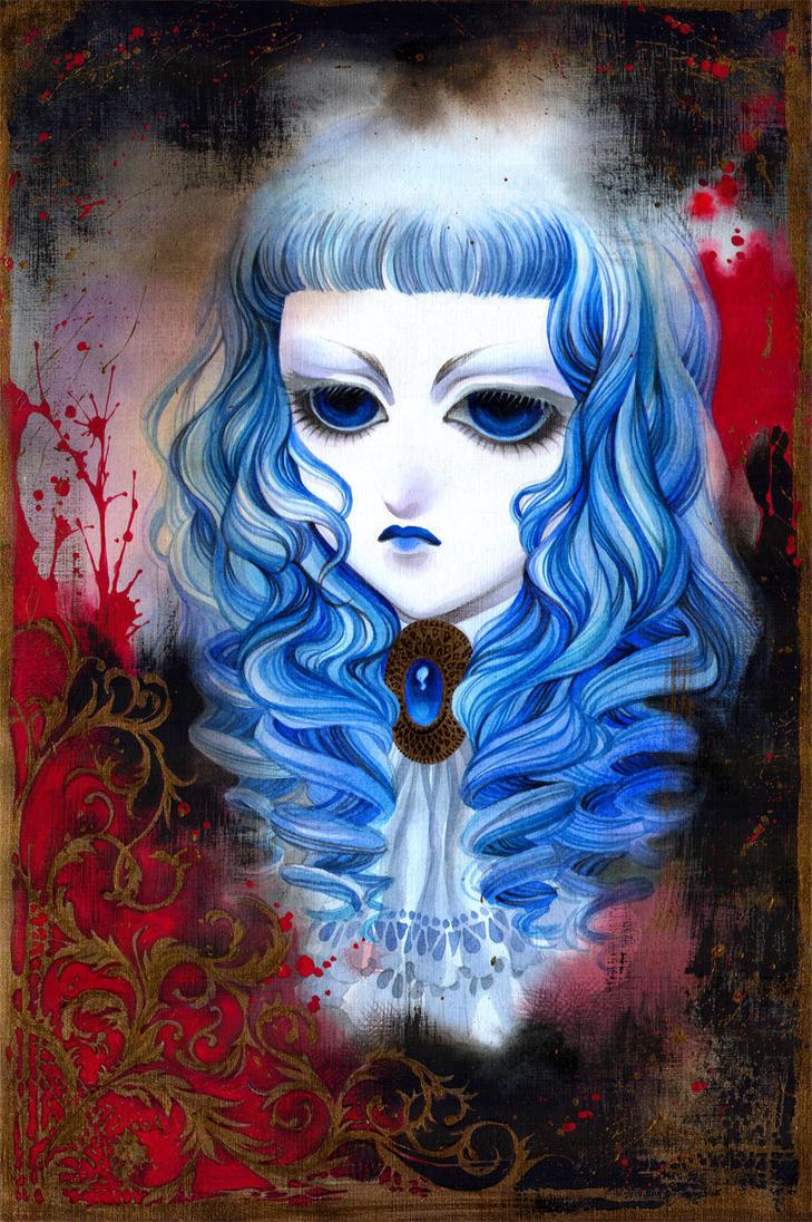 Vampire Doll by HyperLaceAlchemists