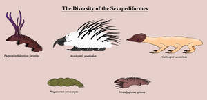 The Diversity of the Sexapediformes by Giant-Blue-Anteater