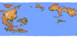 Anthropomundus World Map