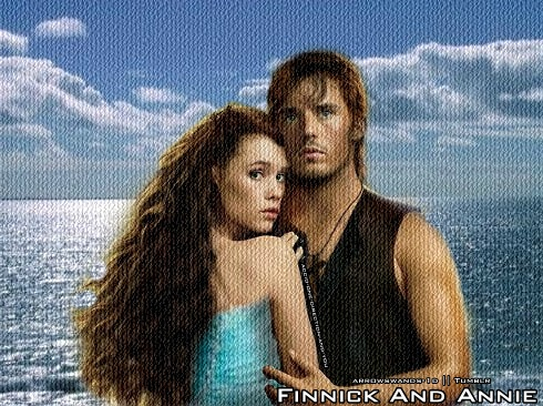 Finnick Odair and Annie Cresta by HannahLunaBarker on ...