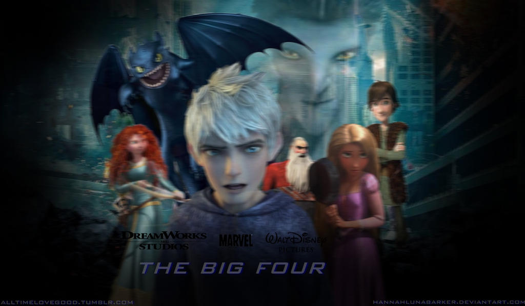 Spoiler The Big Four Pixar