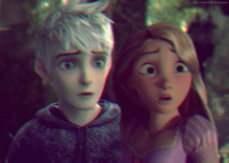 Jack Frost and Rapunzel by HannahLunaBarker on DeviantArt