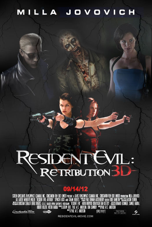 Resident Evil Retribution By Jennifer Jovovich On Deviantart