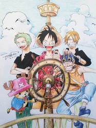 Straw Hats by Meroty