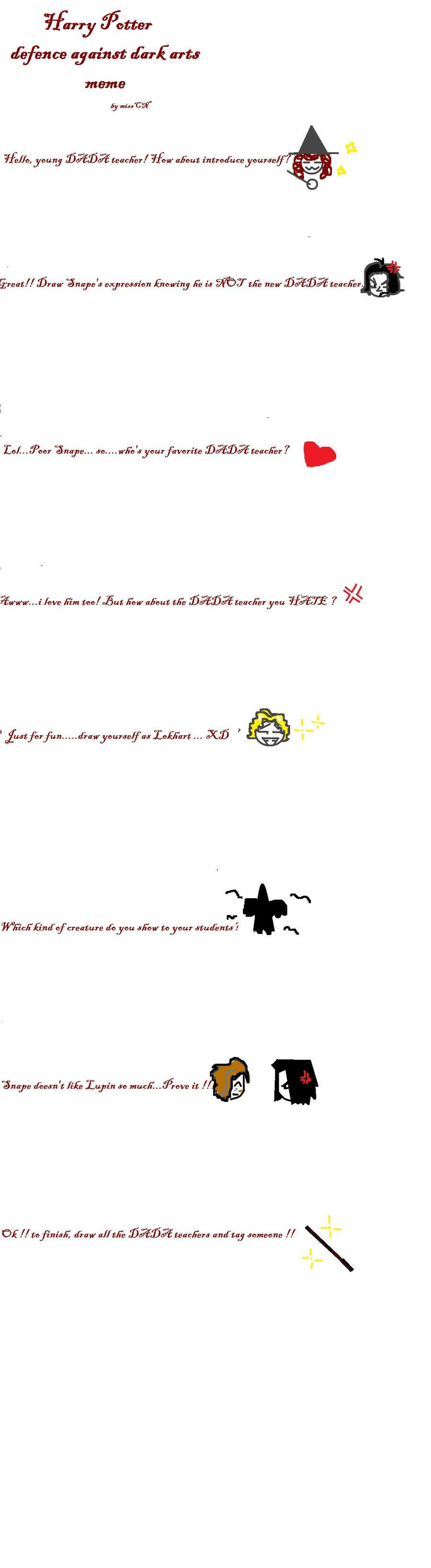 Harry Potter Dada Meme By Misscn On Deviantart