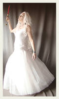 Lady in white preview by Lisajen-stock