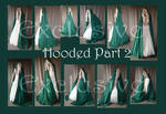Hooded Part 2 exclusives by Lisajen-stock