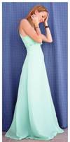 Green dress 8 by Lisajen-stock