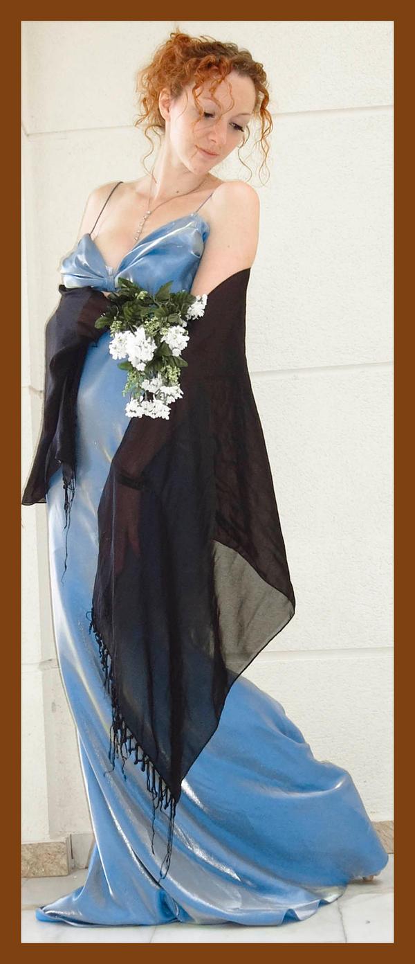 Blue Dress 2 by Lisajen-stock