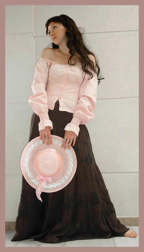 Pink Hat 3 by Lisajen-stock