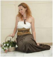 Flower Basket 3 by Lisajen-stock