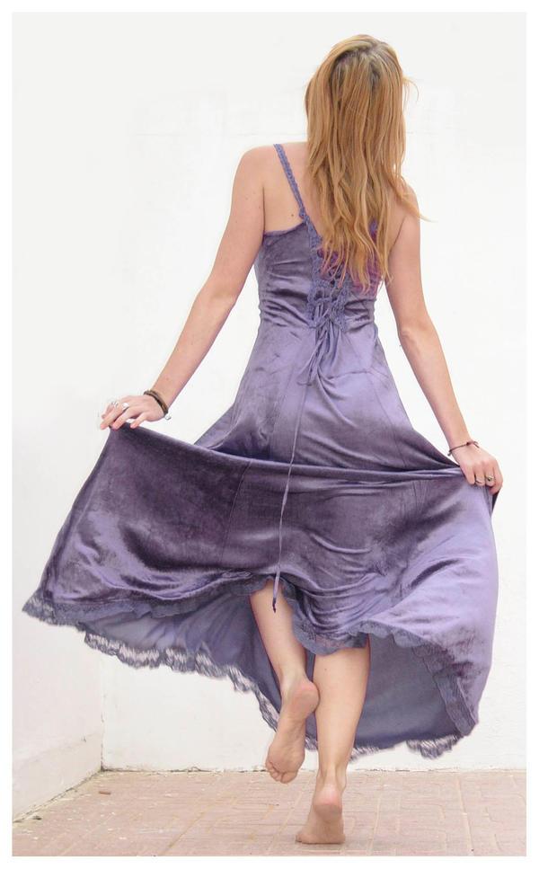 Purple dress part two 2 by Lisajen-stock