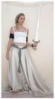 sword lady 5 by Lisajen-stock