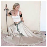 sword lady 21 by Lisajen-stock