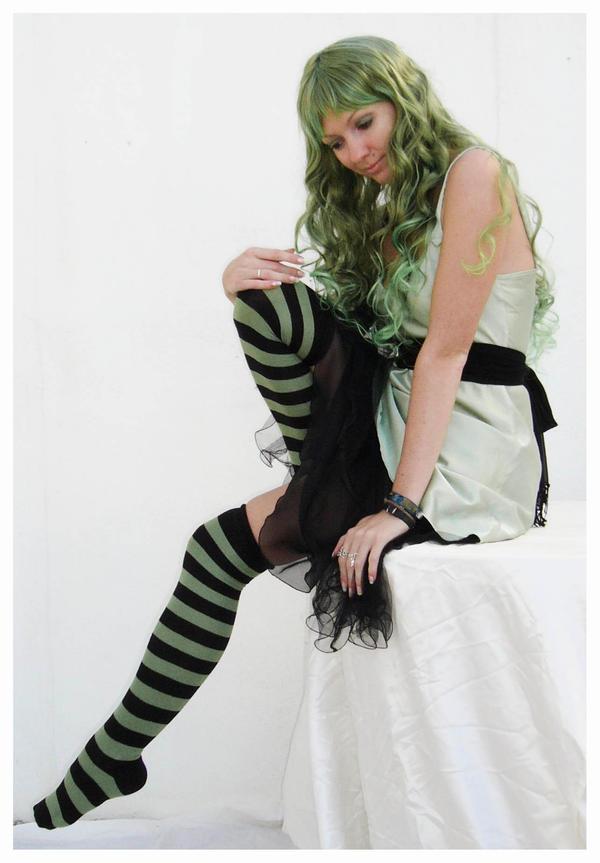green fairy 16 by Lisajen-stock