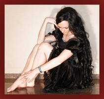Small black dress 15 by Lisajen-stock