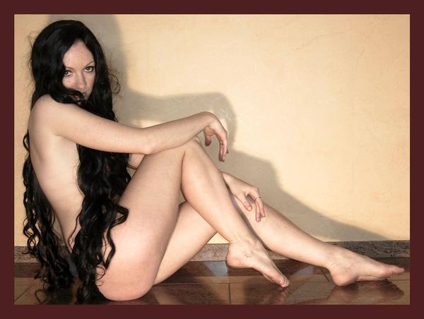 black wig 18 by Lisajen-stock