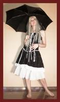 Alice with umbrella 1