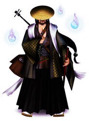 Shamisen Samourai by ThePWhy