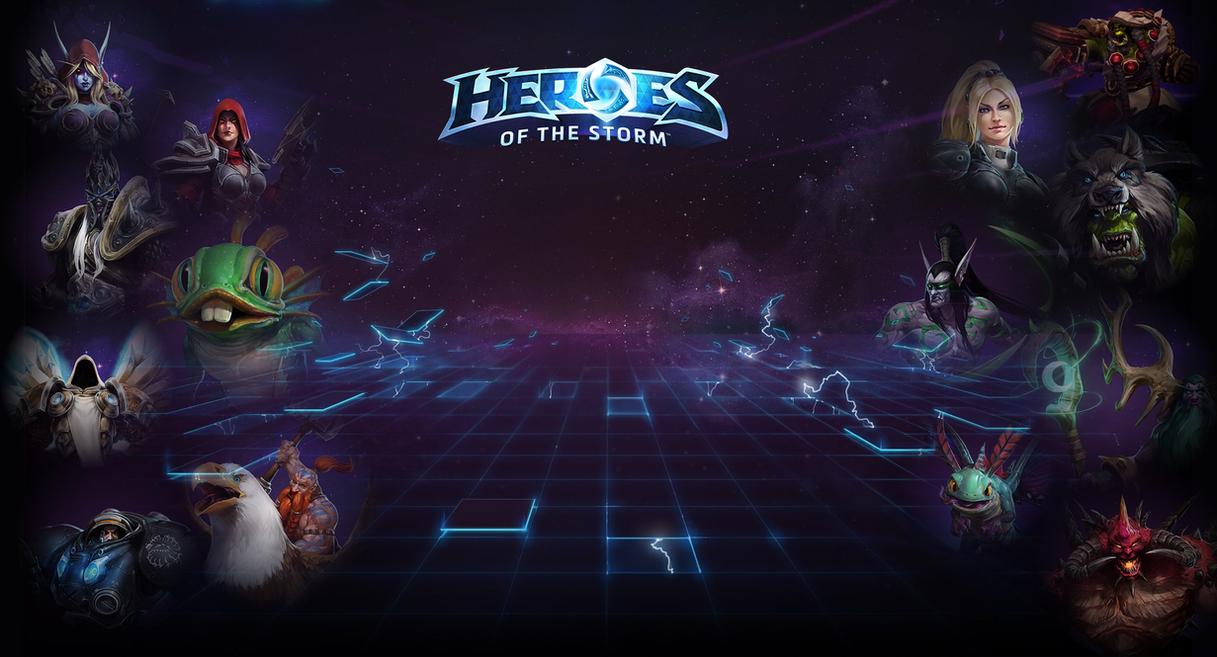 Heroes Of The Storm Into Nexus Wallpaper By Leepiin