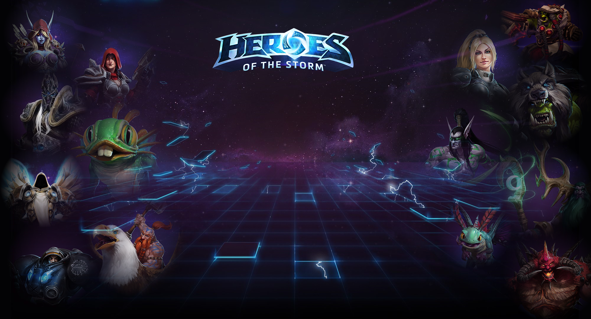 Heroes Of The Storm Into The Nexus Wallpaper By Leepiin On Deviantart