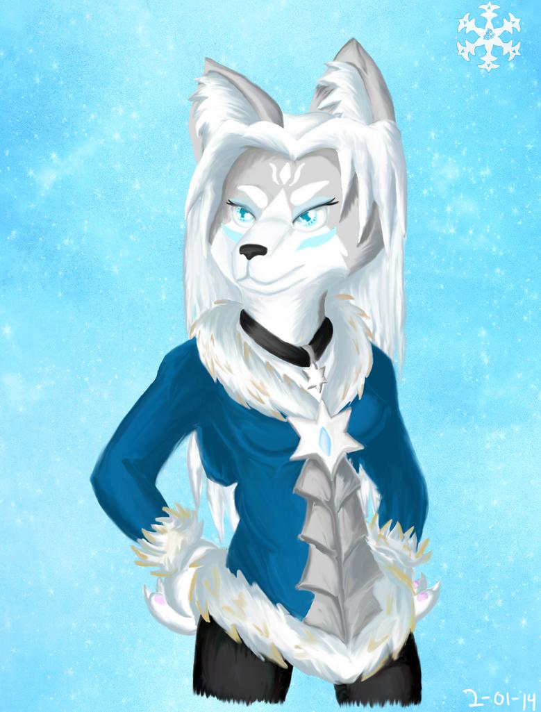 Glacie by glaciethewolf