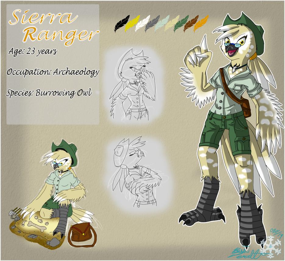 OC: Sierra Ranger by glaciethewolf
