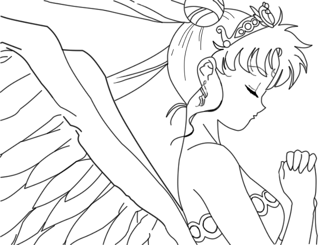 neo queen serenity coloring pages photo7