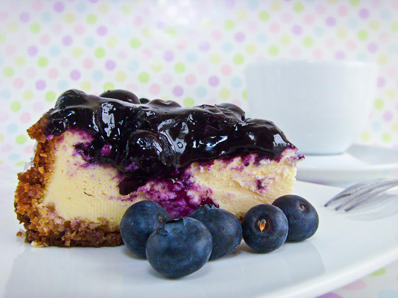 Blueberry Cheesecake by dabbisch