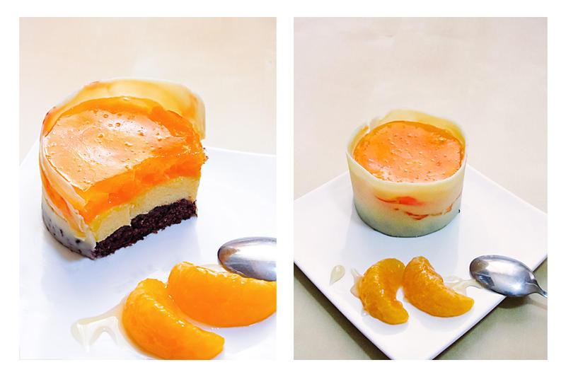 Mandarine mini cake by dabbisch