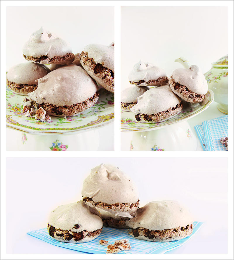 Chewy Chocolate Meringues by dabbisch