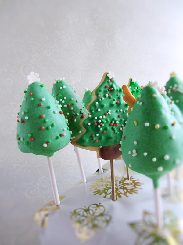 Christmas Cake Pop Games