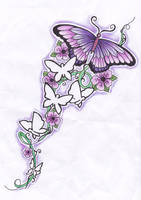 butterfly mania by kimywabbit123