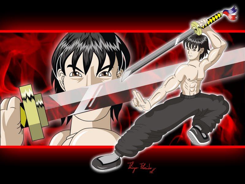 Desenho inspirado no Bruce Lee by Thiagoflorindo