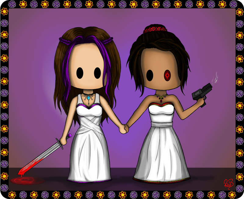 Minx and krism wedding
