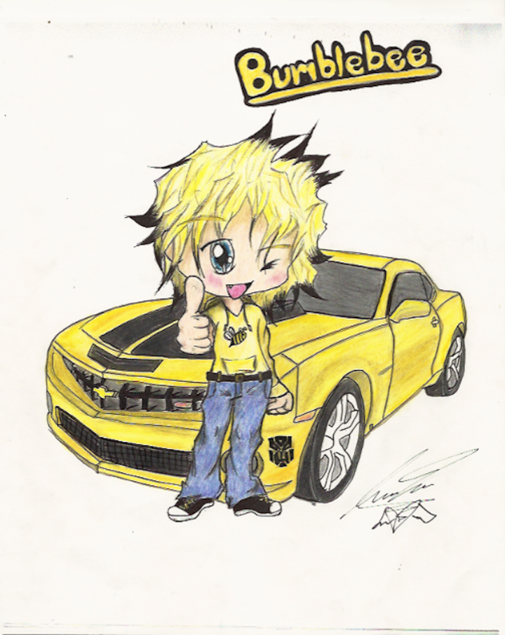 Bumblebee Chibi Transformer by dark-angel1912 on DeviantArt