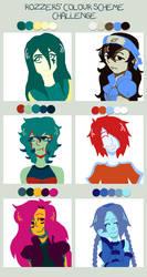 Color Scheme Challenge by junkie998