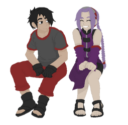 Asto and Riiko by junkie998